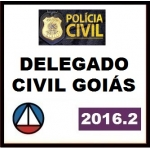 Delegado Civil Goiás - PC GO 2016.2