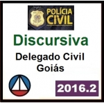 DISCURSIVA - Delegado Civil Goiás - PC GO