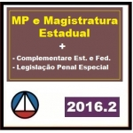 MP e Magistratura Estadual + Complementares + LPE 2016.2