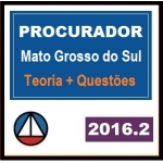 Procurador MS - Estado do Mato Grosso do Sul 2016.2
