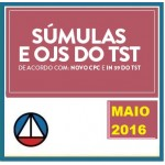 Súmulas e OJS do TST 2016