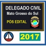 Delegado Civil Mato Grosso do Sul (PÓS EDITAL 2017) PC MS