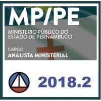 MP PE Analista Ministerial - CERS 2018.2 (Ministério Público de Pernambuco)