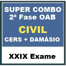 SUPER COMBO - 2ª Fase OAB XXIX Exame - DIREITO CIVIL (CERS + DAMÁSIO)