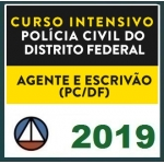 PC DF - Agente e Escrivão - Polícia Civil do Distrito Federal (CERS 2019)