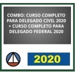Combo Delegado Civil + Delegado Federal - (CERS 2020) Policia Civil e Policia Federal