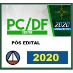PC DF - Agente e Escrivão - PÓS EDITAL =  Polícia Civil do Distrito Federal (CERS 2020)