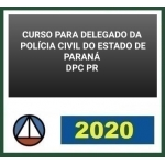 PC PR - Delegado Civil (CERS 2020) Polícia Civil do Paraná