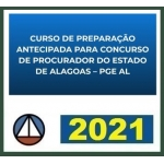 PGE AL  Procurador do Estado do Alagoas (CERS 2021)