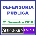 Defensoria Pública Estadual - DPE 2016.2 SUPREMO