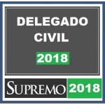 Delegado Civil  - Polícia Civil Supremo 2018