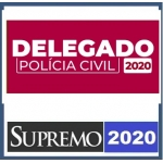 Delegado Civil (SUPREMO 2020) Policia Civil - ANUAL COMPLETO