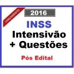INSS INTENSIVÃO 2016 Teoria + Questões...