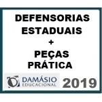 Defensoria Pública Estadual  + Peças Práticas da Defensoria (DAMÁSIO 2019)