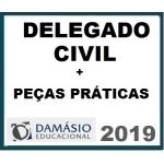 Delegado Civil 2019 Polícia Civil + Peças Práticas Policiais - DAMÁSIO 2019