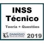 INSS Técnico do Seguro Social (Teoria + Questões) - DAMÁSIO 2019