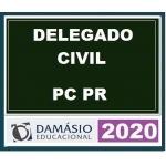 Delegado Civil PC PR (Damásio 2020) Polícia Civil do Paraná