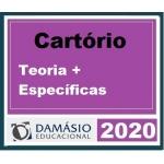 Cartórios Teoria + Matérias Específicas  (Damásio 2020) Tabelionato