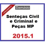 Sentença Civil e Criminal e Peças do MP 2015.1