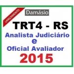 TRT 4ª Região (Rio Grande do Sul) TRT4 Analista Judiciário / Oficial Avaliador