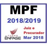 Magistratura Federal e MPF ENFASE 2018/2019 (Juiz Federal e Procurador da República)
