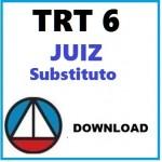 TRT 6ª Região - Juiz Substituto Magistratura Trabalhista