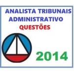 Analista de Tribunais - Área Administrativa - Resolução de Questões 2014
