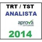 TRT TST Analista 2014 Novo Extensivo