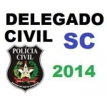 Delegado Polícia Civil Santa Catarina SC 2014