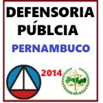 Defensoria Pública Pernambuco 2014 DPE PE