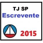 TJ SP ESCREVENTE 2015