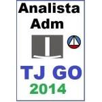 TJ GO - Tribunal de Justiça de Goiás - Analista Administrativo