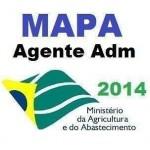 Mapa Agente Administrativo 2014 Novo Pos Edital