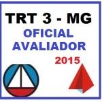 TRT 3ª Região - MG - Oficial Avaliador  2015