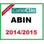 ABIN 2014/2015 - CLIO OFICIAL INTELIGÊNCIA