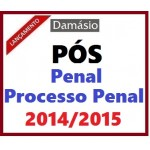 PÓS GRADUAÇÃO - Penal e Processo Penal 2014/2015 -