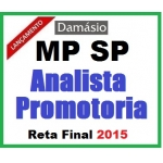 MP SP - Analista Promotoria - Assistente Jurídico -  2015...