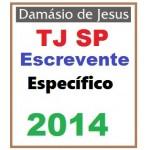 TJ SP Escrevente -  2014 - Específico