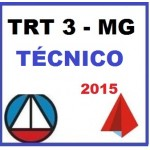 TRT 3ª Região - MG - Técnico Administrativo  2015