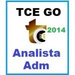 TCE GO - Analista Controle Externo - Administrativo 2014 - Aprova