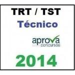 TRT TST Técnico 2014 Novo Extensivo