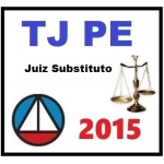 TJ PE Tribunal de Justiça Pernambuco Juiz Substituto 2015