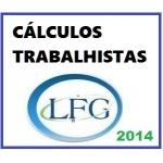 CÁLCULOS TRABALHISTAS -  2014