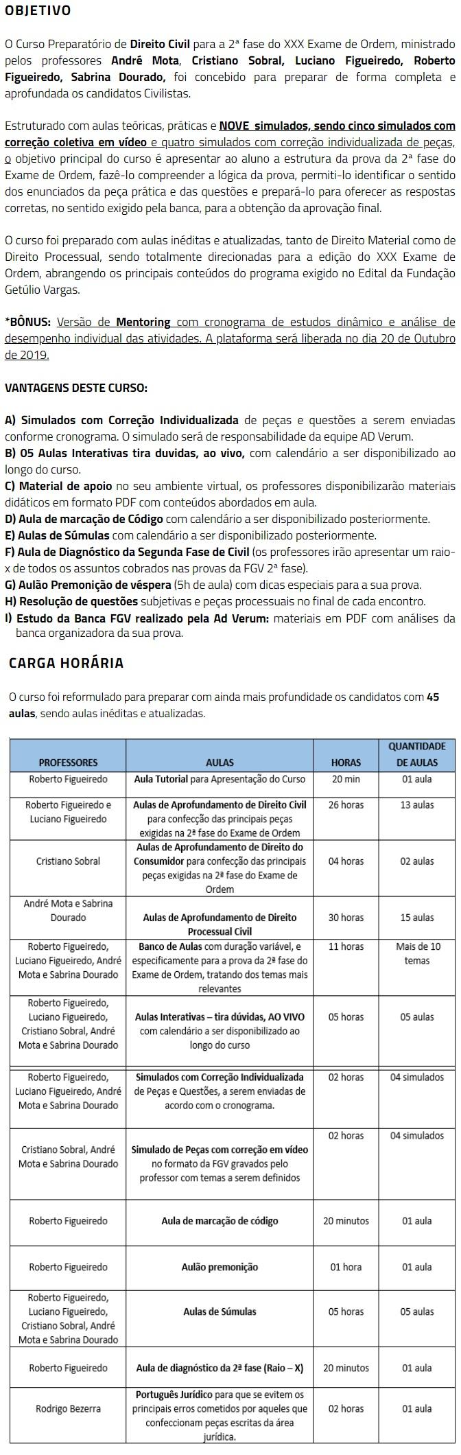 2 Fase OAB XXX (30º) Exame - DIREITO CIVIL Repescagem (CERS 2019) 4